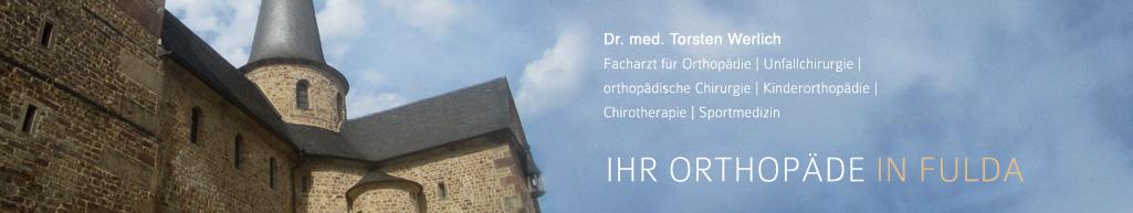 Dr. Torsten Werlich - Ihr Orthopäde in Fulda
